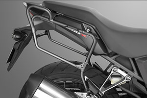 honda cb 500x saddle bag mounting rack