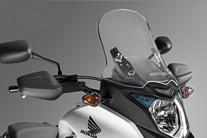 honda cb 500x tall windshield windscreen