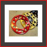 front and rear sprockets for Honda CBR 500